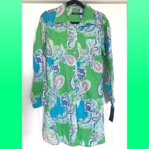 🍀Ralph Lauren Pajamas Sleepwear Top Monogrammed🍀